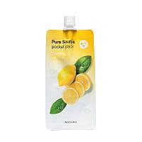 Ночная маска для лица Missha Pure Source Pocket Pack Лимон, фото 1