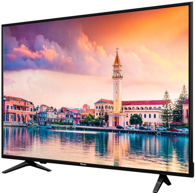 Телевизор Hisense H55AE6000 (55 дюймов, PQI 600 Гц, Ultra HD 4K, Smart, Wi-Fi, DVB-T2/S2)