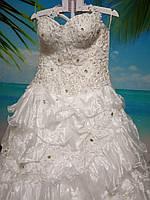 Свадебное платье размер 52-54-56