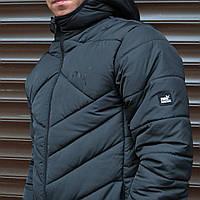 ЛЮКС! Куртка мужская зимняя до -25*С Puma X-black / пуховик зимний