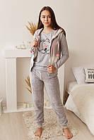 Зимний женский костюм  тройка для дома  Nicoletta 94065, фото 1