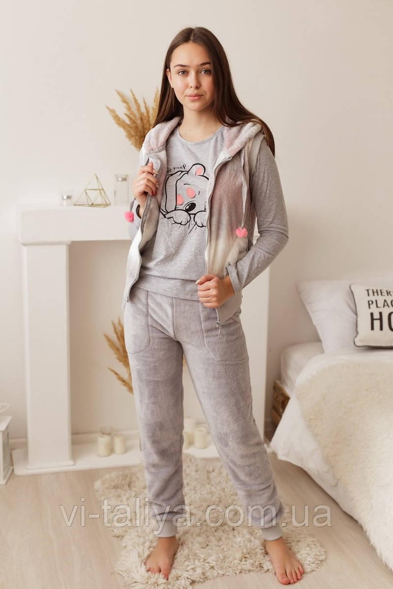 Зимний женский костюм  торйка для дома  Nicoletta 94065, фото 1