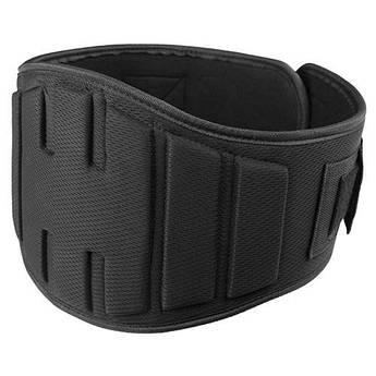 """Пояс штангиста, атлетический широкий, Polyfoam Velo 8"""" ,черный, размер  2XL, PTB-12027.."""