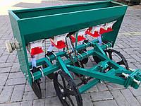 Сеялка зерновая мотоблочная дисковая на пять рядов (мототракторная), фото 1