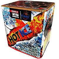 Салют Hot Ice на 25 выстрелов, фото 1
