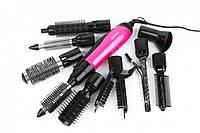 Фен щітка для волосся Стайлер GEMEI GM-4835 10в1 (4641)