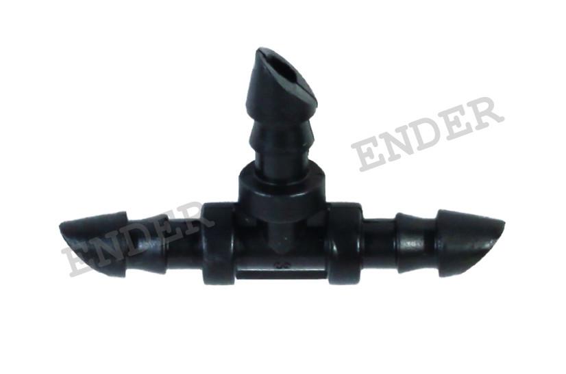 Тройное соединение Ender для микротрубки 3*5 мм., для капельного полива