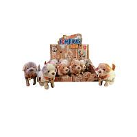Плюшевые собачки, 12шт в блоке, 3цвета арт.17731AE