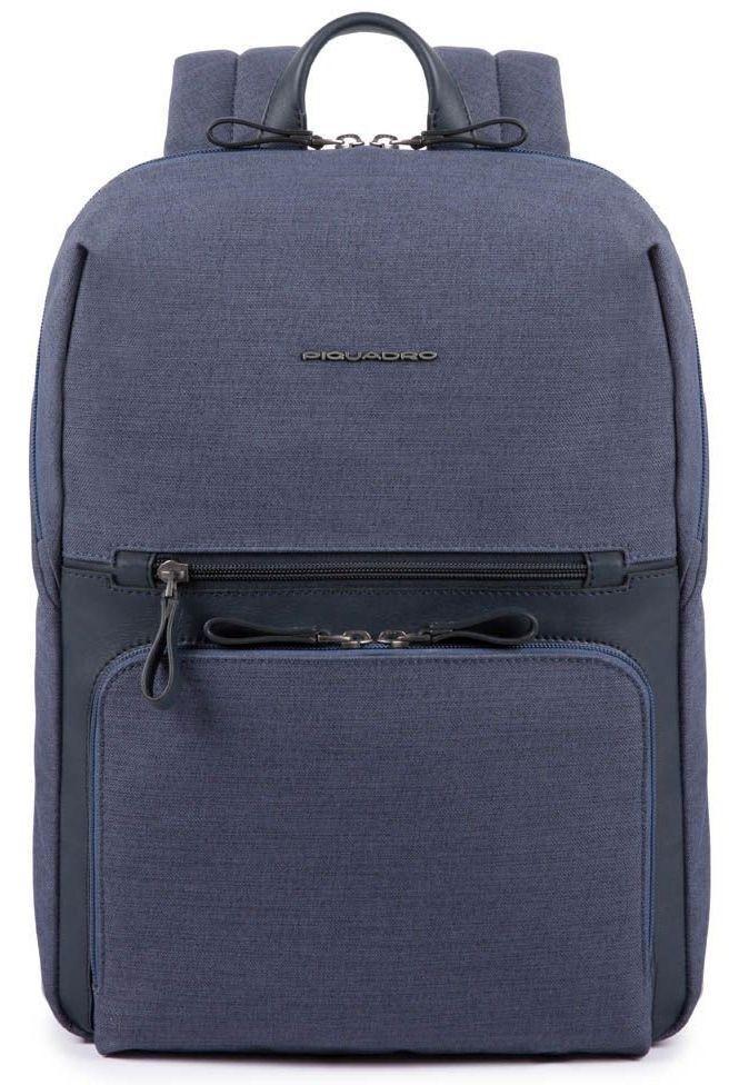 Городской рюкзак Piquadro Tiros синий 14 л