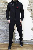 Спортивный костюм мужской утеплённый на флисе Reebok UFC черный