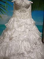 Белое свадебное платье 52-54-56 размер