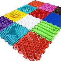 Детский ортопедический коврик пазл без запаха Ортодон комплект из 12 пазлов