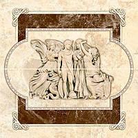 Панно Интеркерама Emperador барельеф П 66 031 230x500 мм N60206803