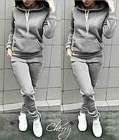Женский теплый костюм из трехнитки, фото 1