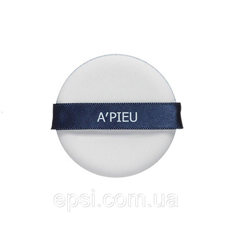 Спонж для макияжа A pieu Голубой, 1 шт