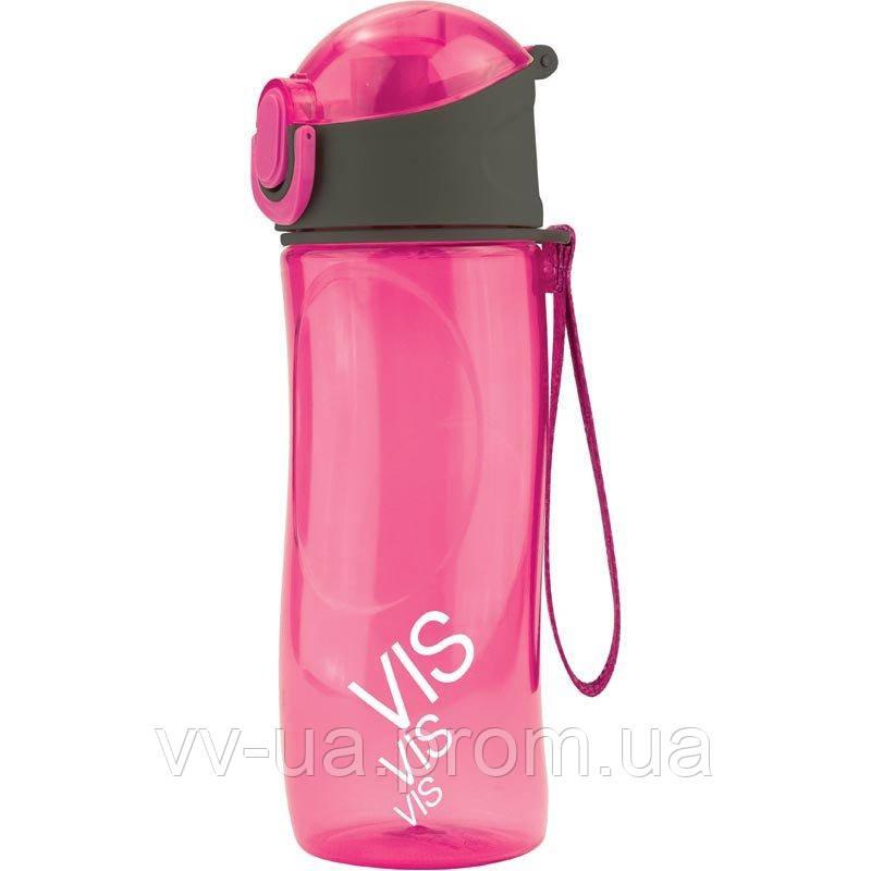 Бутылочка для воды Kite Время и Стекло, 530 мл, розовая (VIS19-400-02)