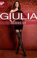 Модные колготки с имитацией чулка и люрексом GIULIA  GLOSS UP 60, фото 1