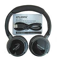 ATLANFA AT-7601 Беспроводные наушники с MP3 плеером и FM Monster AT-7601 Atlanfa
