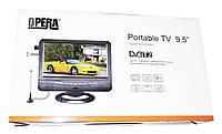 """Портативный телевизор Opera NS-901 Т2 USB 9,5"""", фото 5"""