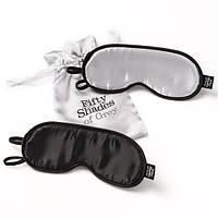 Комплект масок для глаз Fifty Shades of Grey Soft Twin Blindfold Set