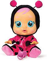Интерактивная кукла пупс Плачущий младенец Леди Ледибаг Cry Babies Lady The Ladybug Doll IMC