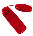 Виброяйцо - Vibrating Bullet red, фото 2