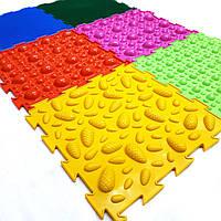 Ортопедический массажный коврик пазл без запаха для детей Ортодон комплект из 6 пазлов