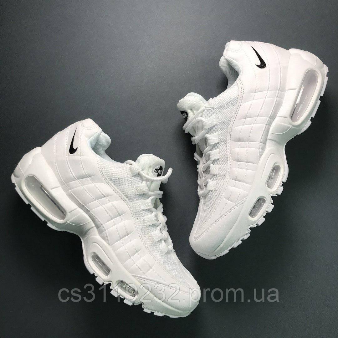 Женские кроссовки  Nike Air Max 95 (белые)