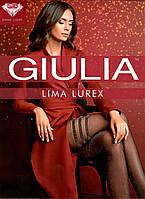 Модні колготки з смужками і люрексом GIULIA LIMA LUREX, фото 1