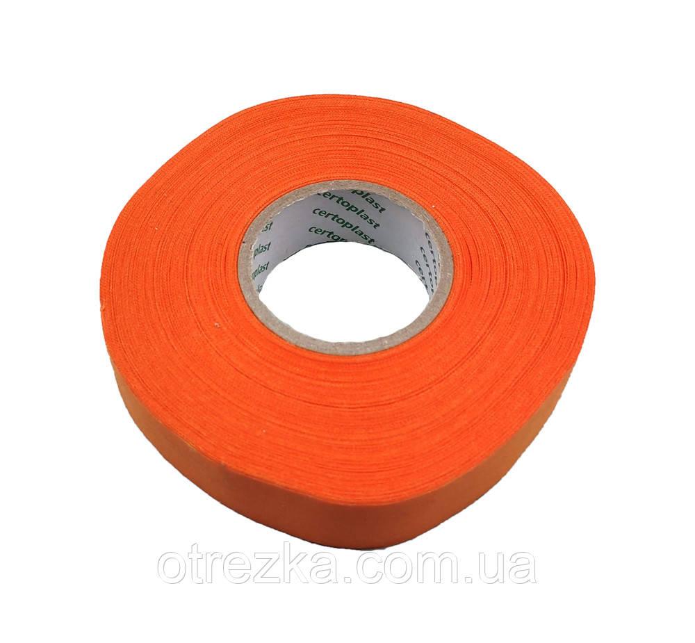 Изолента Certoplast лавсановая оранжевая.