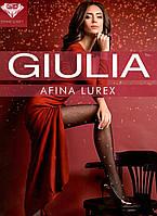 Модные колготки с люрексом GIULIA  AFINA LUREX40den