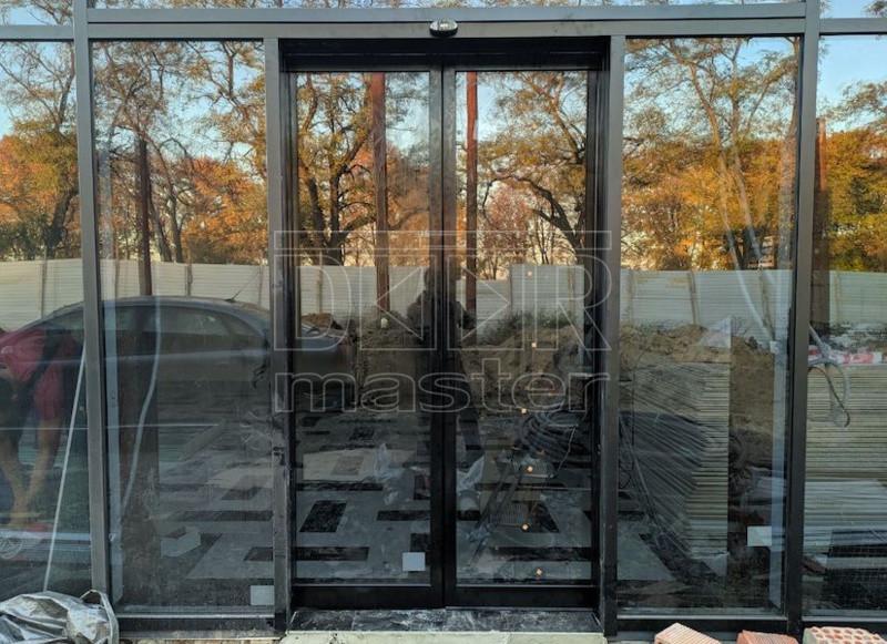 Автоматические двери ERS IMAGE, АЗС SKY 17.10.2019 (г. Днепр)