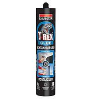 Клей монтажный T-REX прозрачный 310гр SOUDAL (000030000098000100)