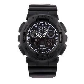 Мужские наручные часы Casio G-Shock GA-100 Черные Копия