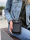 Сумка-клатч красная на ремешке с карманом для телефона, фото 3