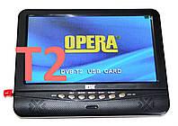 """Портативный телевизор Opera NS-901 USB 9,5"""" цифровое телевидение Т2"""