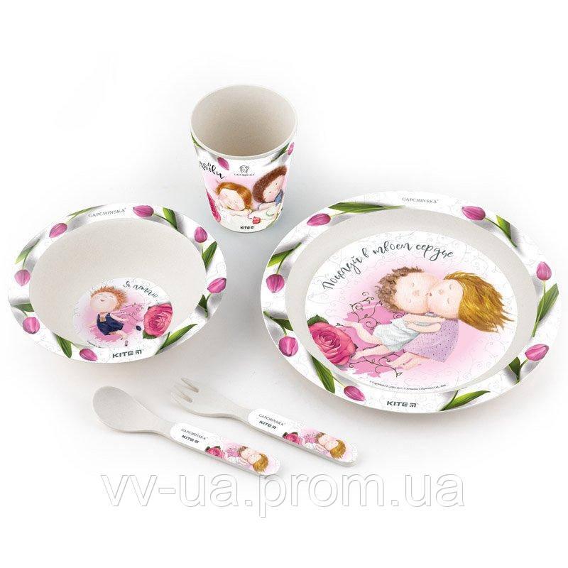Набор посуды из бамбука Kite Gapchinska, 5 предметов (K19-501)