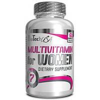 Витамины и минералы для женщин Biotech - 60 капсул