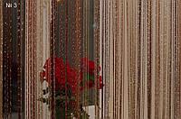 Шторы нитяные кисея Радуга Дождь (81014)
