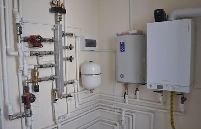 Подключение системы отопления к котлу
