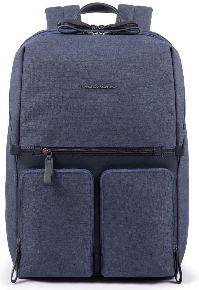Городской рюкзак Piquadro Tiros синий 24 л