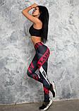 Лосины для занятий спортом и активного отдыха. Лосины женские для йоги и фитнеса., фото 4