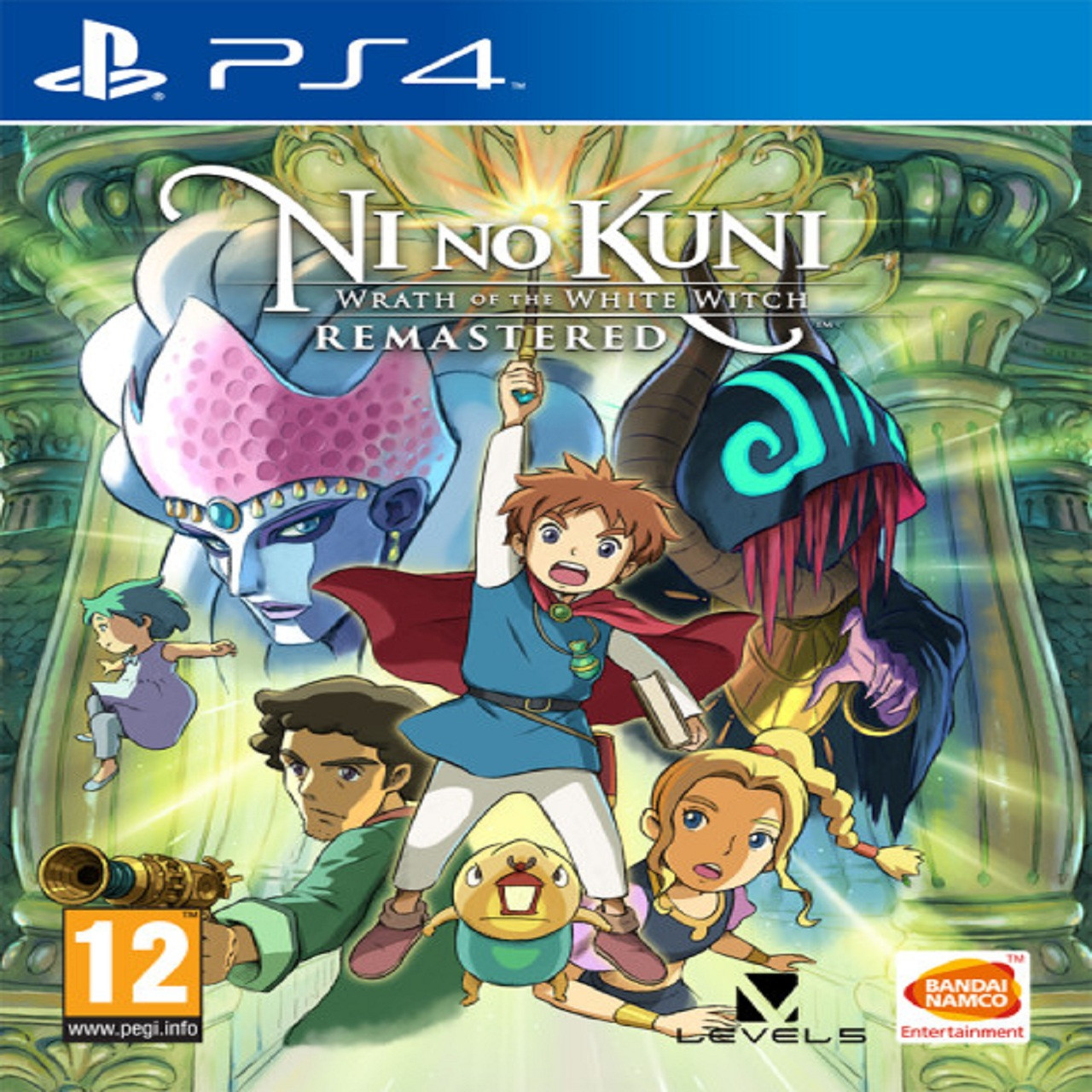Ni no Kuni: Wrath of the White Witch Remastered SUB PS4
