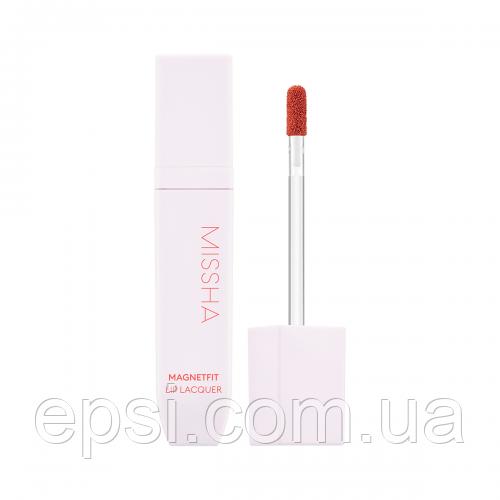 Тинт-лак для губ Missha Magnetfit Lip Lacquer BE01 Bere Me Nude, 4,5 г