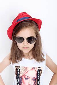 Дитячі капелюхи FAMO Капелюх дитяча Барбадос червона 50 (SHLD1801) #L/A