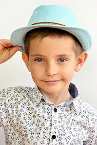 Дитячі капелюхи FAMO Капелюх дитяча Муреа блакитна 52 (SHLD1802) #L/A