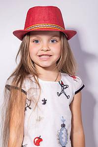 Дитячі капелюхи FAMO Капелюх дитяча Муреа червона 52 (SHLD1802) #L/A