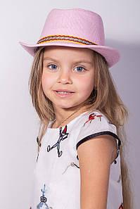 Дитячі капелюхи FAMO Капелюх дитяча Муреа рожева 52 (SHLD1802) #L/A