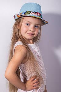 Дитячі капелюхи FAMO Капелюх дитяча Мюстік блакитна 53 (SHLD1804) #L/A