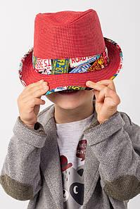 Дитячі капелюхи FAMO Капелюх дитяча Мюстік червона 53 (SHLD1804) #L/A